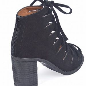 Jeffrey Campbell Shoes - Luxe black suede Jeffrey Campbell Booties